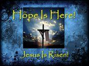 JESUS-YESHUA is RISEN