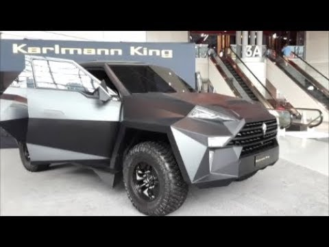 The Worlds Most Exclusive SUV the Karlmann King