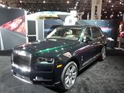 New York International Auto Show 2019 Rolls Royce Cullinan