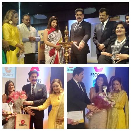 Sandeep Marwah Chief Guest at Sherise Conference