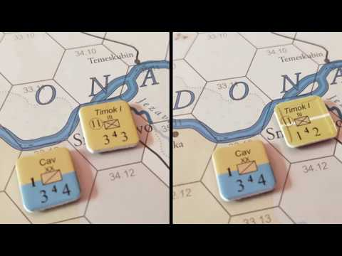 How to play [1]: 1914 Serbien Muss Sterbien - 1: Forces and Organisation