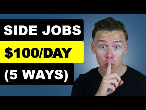 Five Best Side Jobs To Make Extra Money (2019)