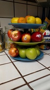 fruit plate after