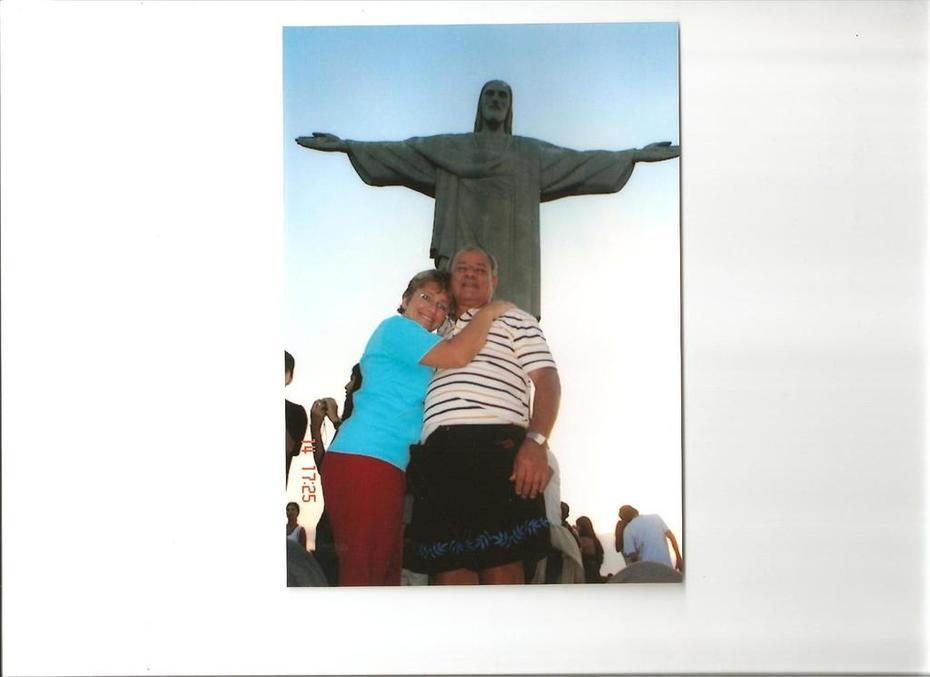 Cristo bendiciendo nuestro viaje