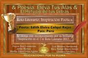 DIPLOMA BRILLANTE PARTICIPCION EVENTO DE POESIA ELEVATUS ALAS