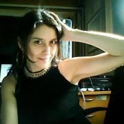 """Foto de mi biografia en la solapa de mi  libro """"Ecos errantes"""""""