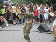 Ranjini Performing in Union Square Park, NYC