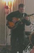 Anthony on guitar.