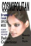 Molly Malakias in Cosmo cover