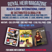 Advertise in Royal Heir Magazine Issue 4!