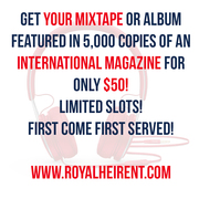 Feature Your Mixtape to 5,000 Global Fans for only $50!