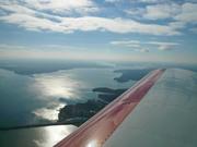 Flying over Kentucky Lake