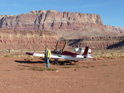 On the way to Copperstate 2008; Cliff dwellers dirt landing strip in marble Canyon