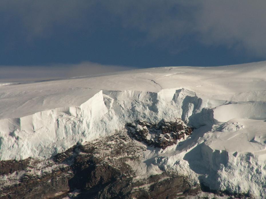 Glacier on Mt Rainier