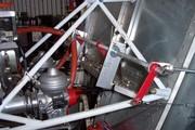 Engine throttle setup l side