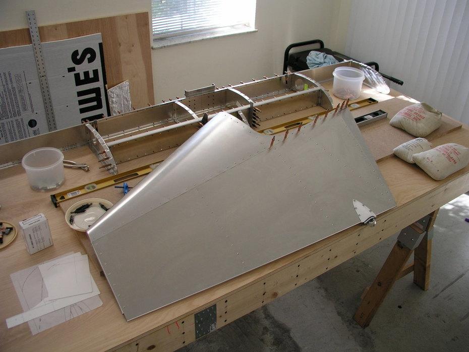 Rudder Complete, Stabilizer Next