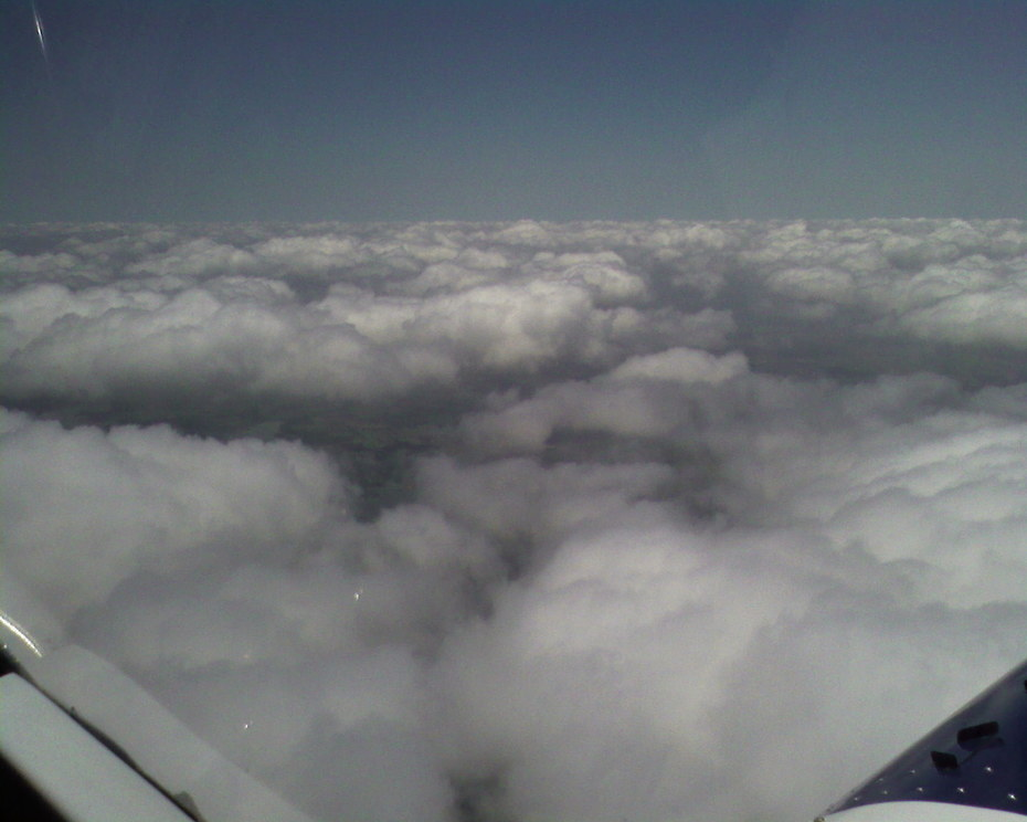 Above the clouds in my HD