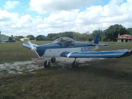 N282RS with Jabiru engine