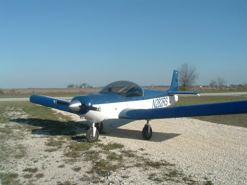N282RS with Corvair engine