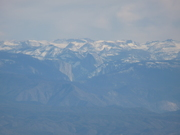 Yosemite's Halfdome From 45 miles away