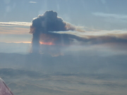 Large California fire - smoke to 13,000 ft