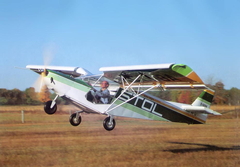 Chris Heintz flies the original STOL CH 701