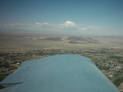 Flying in New Mexico