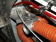Heat/cold air diverter detail