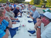 Zenith Open Hangar Day 2009 - Dinner at the Mexico Country Club