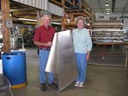 Jerry and Helen build a CH 750 rudder!