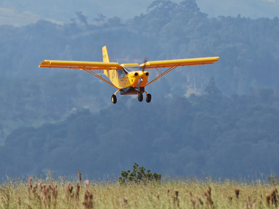 Landing the STOL CH 801