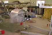 Lycoming O-235 engine installation on the STOL CH 750