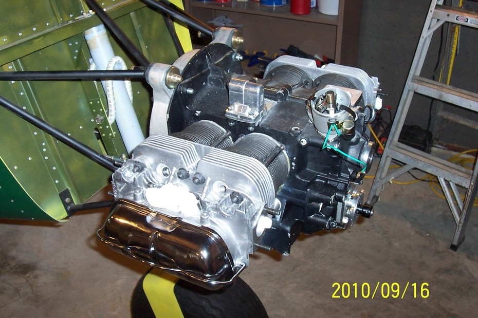 VW engine installation in the STOL CH 701 - Zenith Aircraft