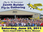 Fly In To Summer Zenith Builder Gathering