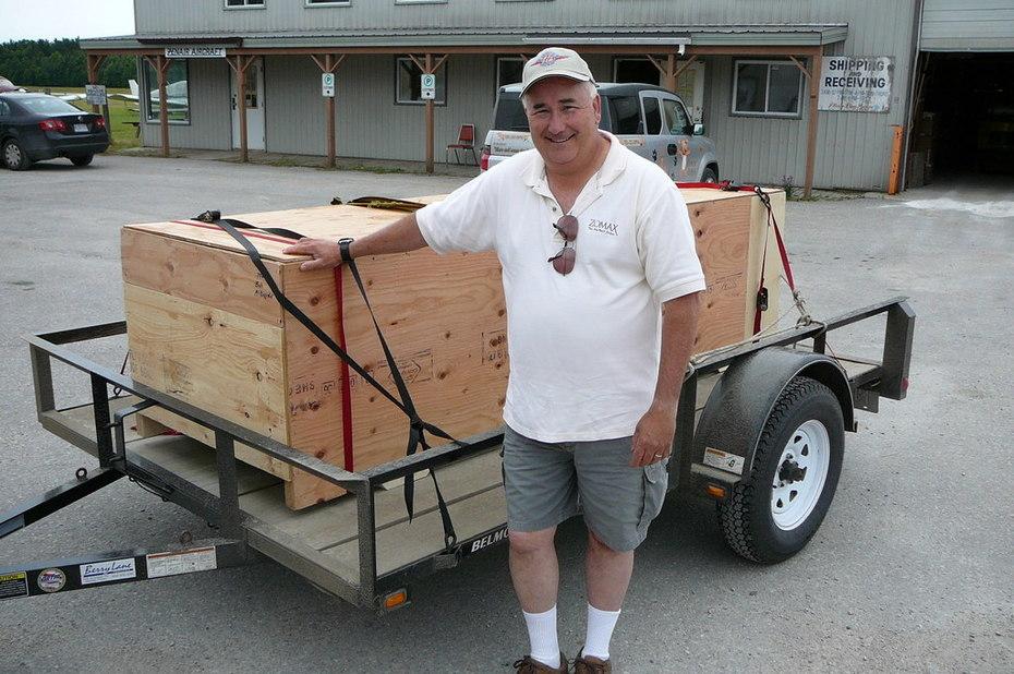 Bob's Never Lost A Load: Zenair Floats