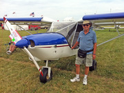 Walter Cwian with his STOL CH 750