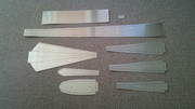 rudder parts blanks