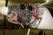 Lycoming engine installation on the STOL CH 750