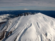 Mt St Helens and Mt Rainier.