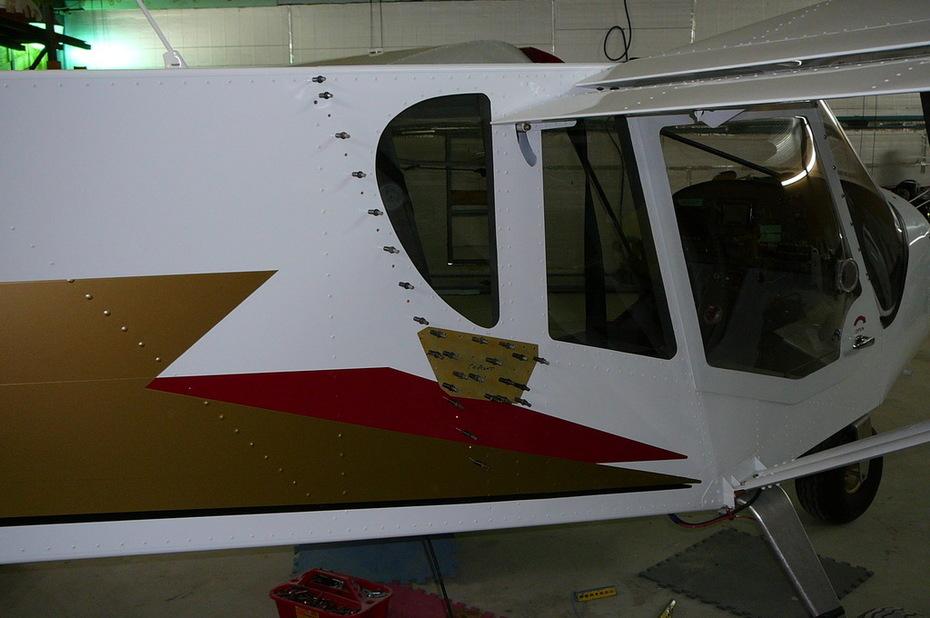 75-FA-10 Fuselage Doubler Kit - Version 1 CH750