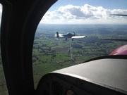 Vol en patrouille CH 640