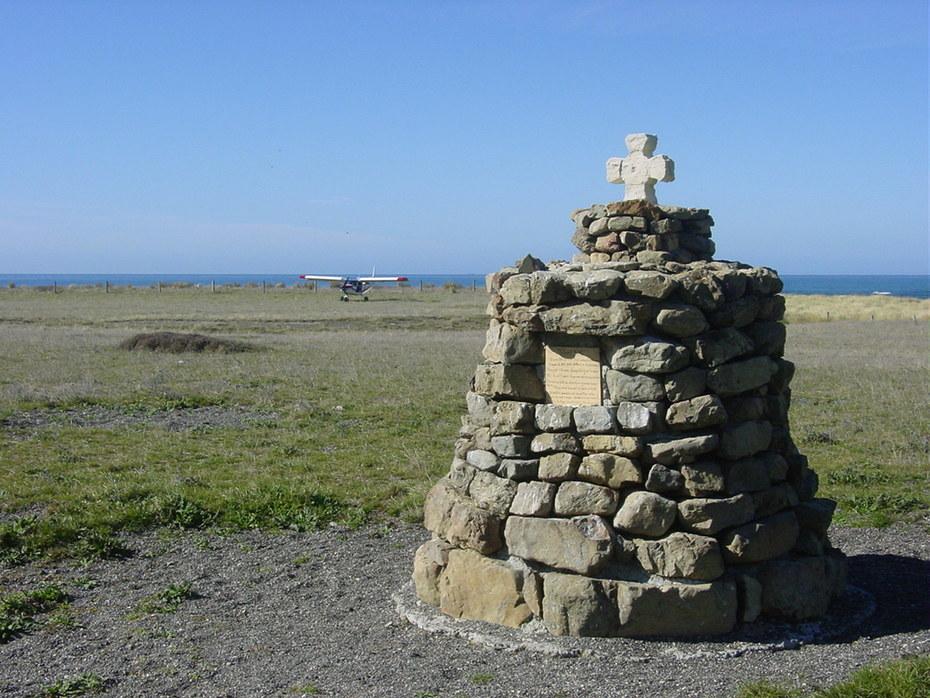 Shipwreck Memorial Cape Campbell Airstrip