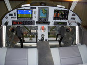 N601BX Finished Instrument Panel
