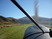 landing on busters strip