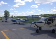 Zeniths at Georgetown, Ohio, fly-in