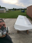 Me and wing painting