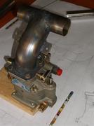 MA-3SPA carb flange
