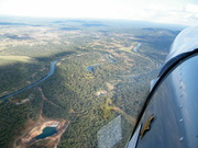 Over Africa in the STOL CH 750