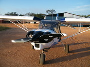 CH 750 on visit to Musappas farm in Zambia