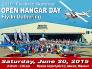 """2015 """"Fly-In to Summer"""" Open Hangar Day"""